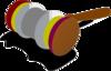 Justice Gavel Color 1 Clip Art
