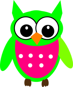 Greenowl Clip Art