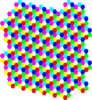 Colorful Hexagon Clip Art