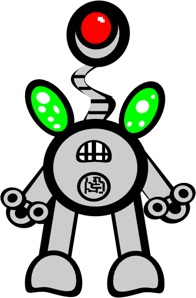 animated robot clipart - photo #45