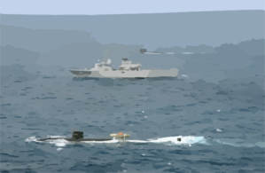 Uss La Jolla - Pacific Reach 2002 Clip Art
