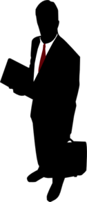 Businessman (red Tie) Clip Art