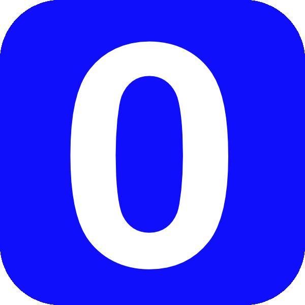 Number 0 Clip Art