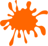 Orange Spot Clip Art