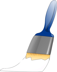 White Paintbrush Clip Art