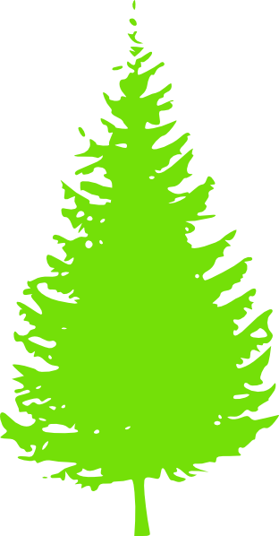 download this image as - Lime Green Christmas Tree