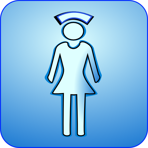 Nurse Icon Clip Art at Clker.com - vector clip art online ...