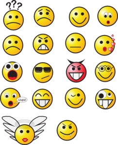 Smiley Faces 3 Clip Art