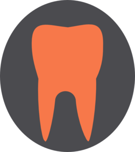 Orange Tooth Final Clip Art
