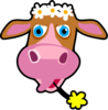 Daisy The Cow Clip Art