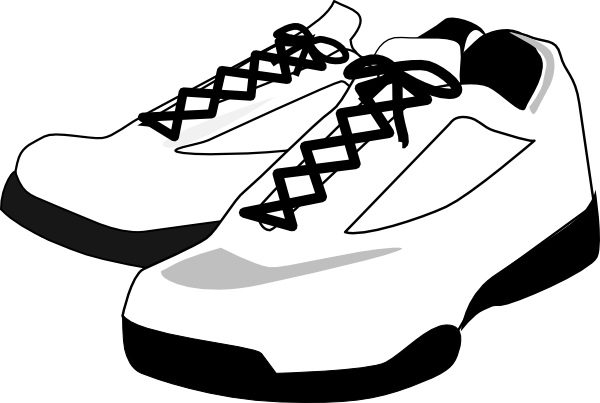 Running Shoes Clip Art At Clkercom Vector Clip Art Online