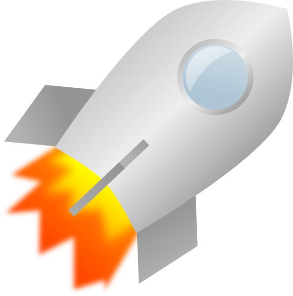 space rocket clip art - photo #36