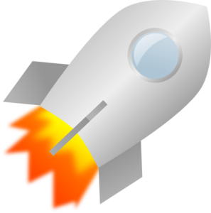 Toy Rocket Clip Art