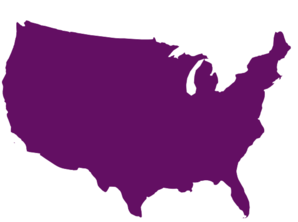 Plum America Silhouette Lake Michigan Clip Art