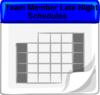 Team Meber Late Night Clip Art