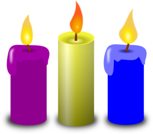Candles Clip Art