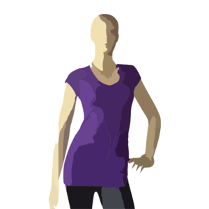 Women S T Shirt Stock Clip Art