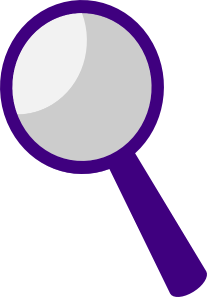 clipart magnifying glass detective - photo #25