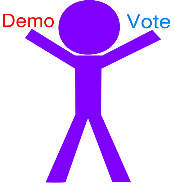 free clipart vote yes - photo #37