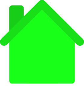 Green House Clip Art