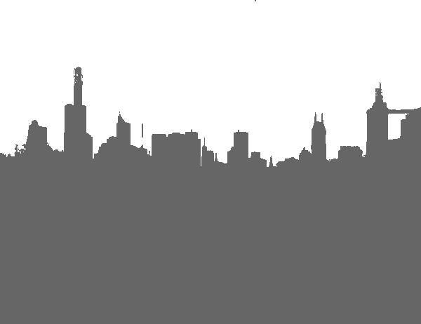 Gray City Skyline Clip Art at Clker.com - vector clip art ...