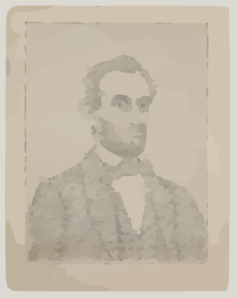 Biography Of Abraham Lincoln Clip Art