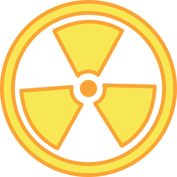 Radioactive Warning Clip Art at Clker.com - vector clip ...