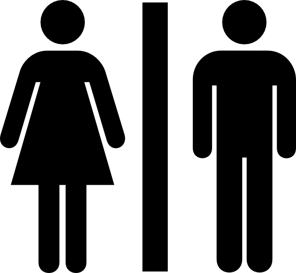 Bathroom Sign Vector Amusing Toilet Clip Art At Clker  Vector Clip Art Online Royalty . Design Decoration