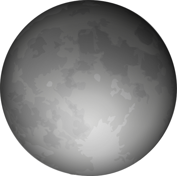 clipart image of moon - photo #31