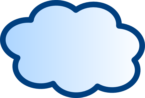 network cloud clip art at clkercom vector clip art