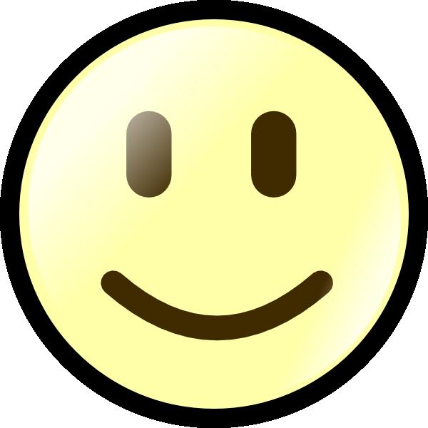 yellow happy face clip art at clker com vector clip art online rh clker com smiling face clip art free free clipart happy face