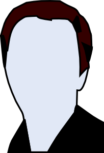 Face And Shoulders Clip Art
