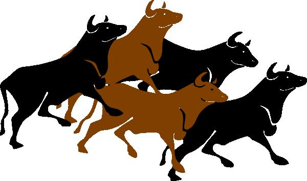 bull stampede agitated clip art at clker com vector clip art rh clker com bullet clipart bell clipart