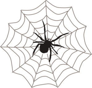 spider with web clip art at clker com vector clip art online rh clker com clipart spider web free clipart spider web