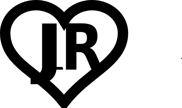 Heart Outline Initials Jr Clip Art at Clker.com - vector clip art ...