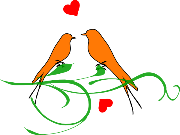 Love bird clip art - photo#16