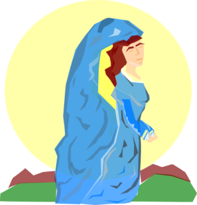 Mary The Mother Of God Clip Art