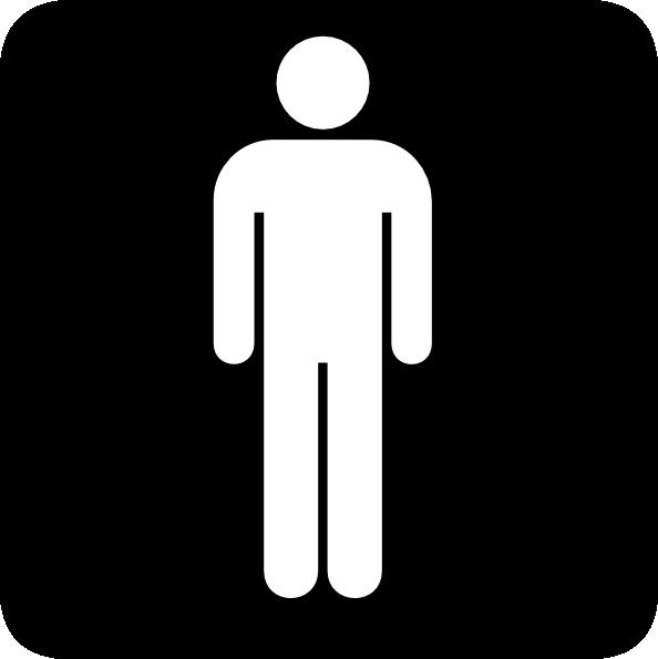 Male Toilet Sign Clip Art At Vector Clip Art