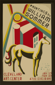 Paintings By William Sommer Clip Art