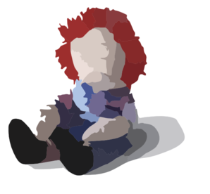 Doll Unhappy Clip Art