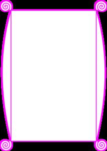 Pink Border Clip Art