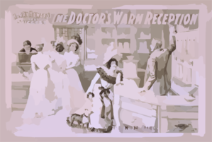 Harry Howard S Latest Success The Doctor S Warm Reception Clip Art