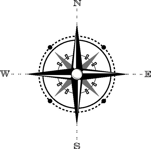 Map Compass Clip Art at Clker.com - vector clip art online ...