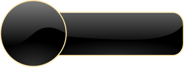 Dark Round Button With Caption Clip Art at Clker.com ...