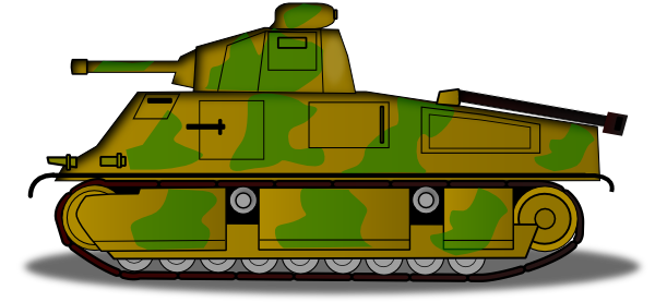 Military Tank Clip Art at Clker.com - vector clip art ...