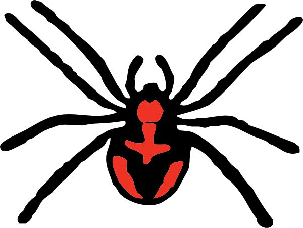 clipart spider - photo #7