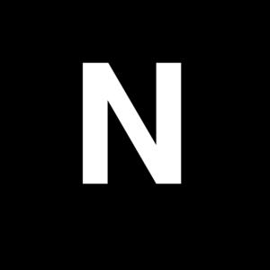 White Letter N Clip Art At Clker Com Vector Clip Art Online