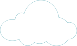 Cloud To Be Labelled Clip Art