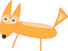 Cartoon Fox Clip Art