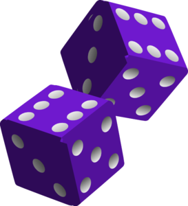 two purple dice clip art at clker com vector clip art online rh clker com dice clip art 1-6 dice clipart free